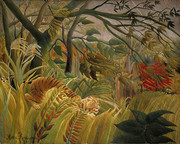 Henri Rousseau, Surprised!, 1891.